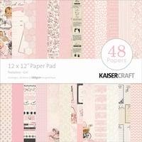 """Peekaboo Girl - Kaisercraft Paper Pad 12""""X12"""" 48/Pkg"""