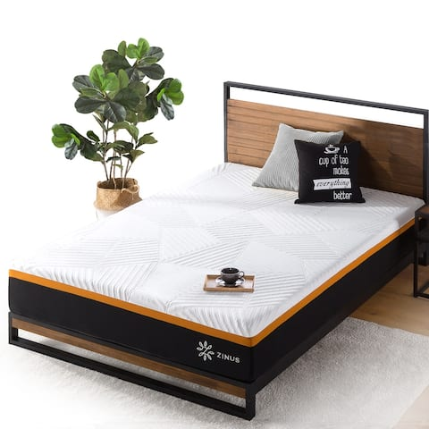 Priage by ZINUS 10 Inch Cooling Copper Adaptive Pocket Spring Hybrid Mattress