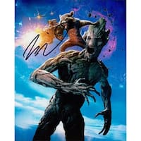 Signed Diesel Vin Guardians of the Galaxy 8x10 Photo autographed