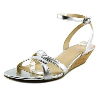 Nine West Valaria Open Toe Leather Sandals