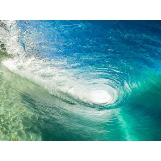 Ocean Wave Photograph Wall Art Canvas