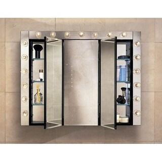 """Robern PLM3630B 36"""" Triple Door Mirrored Medicine Cabinet"""