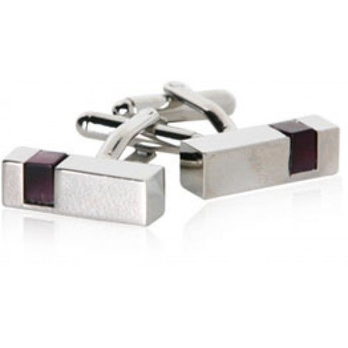 Purple Cut Outs Cufflinks