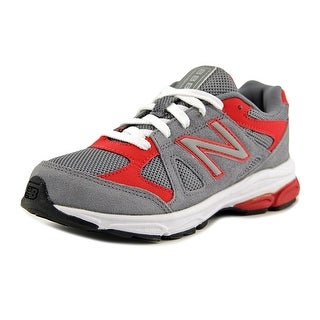New Balance KJ888 Youth W Round Toe Synthetic Gray Sneakers