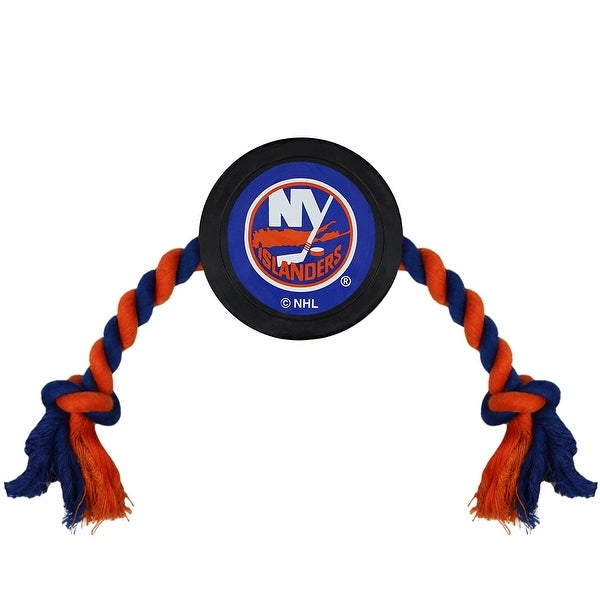 lowest price 0a54f 1f207 Shop New York Islanders Pet Hockey Puck Toy - Free Shipping ...