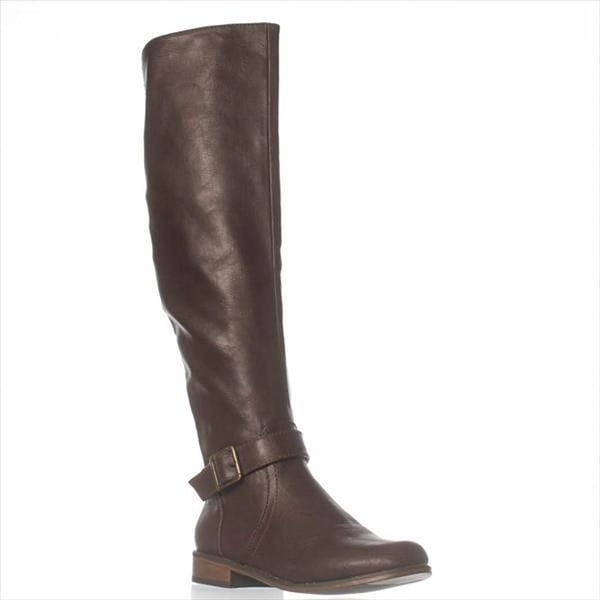 JFab Eliza Riding Boots - Brown
