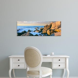 Easy Art Prints Panoramic Images's 'Granite boulders on the coast, Lands End, Baja California, Mexico' Canvas Art