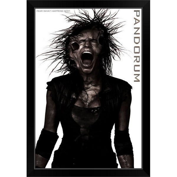 """Pandorum - Movie Poster"" Black Framed Print"