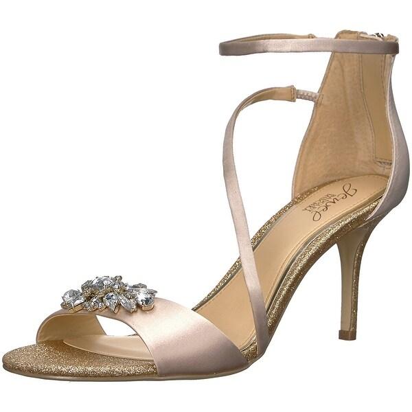 Badgley Mischka Jewel Women's Leighton Heeled Sandal - 7