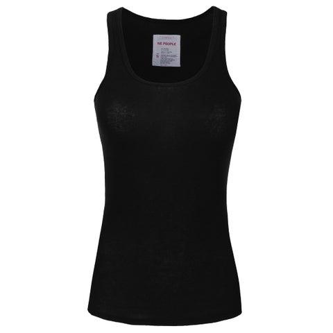 NE PEOPLE Women's Basic Long Fit Ribbed Tank Top