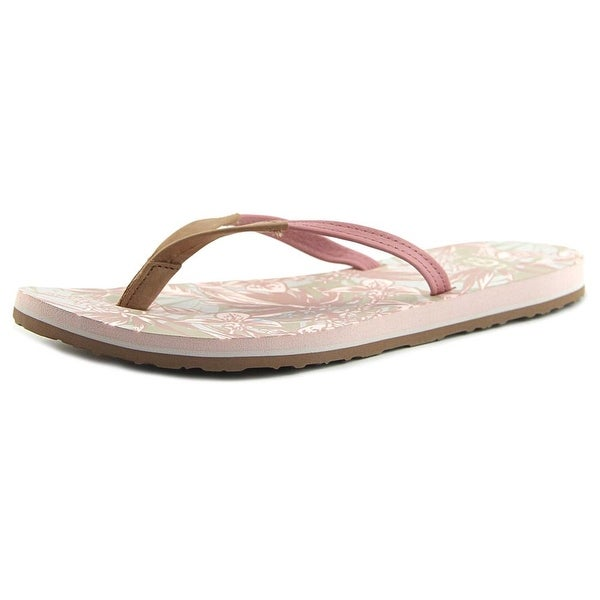 Ugg Australia Magnolia Women Open Toe Leather Pink Flip Flop Sandal