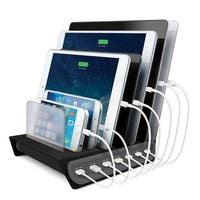 Naztech 7-Port Multiple USB Charging Station Dock and Organizer Cell Phone Docking for Smartphones