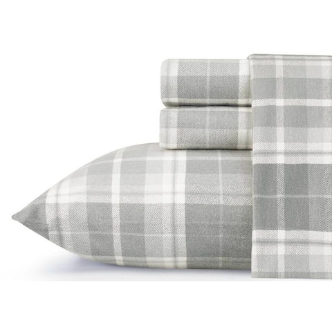 Laura Ashley Cotton Flannel Deep Pocket Bed Sheet Sets