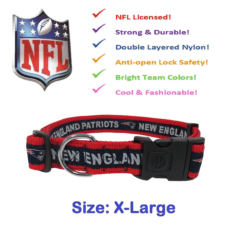 New England Patriots NFL Dog Collar Bandana