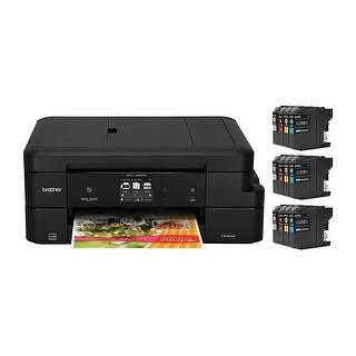 Brother Mfc-J985dwxl Wireless Color Inkjet All-In-One Printer W/ Up To 2 Years Of Ink