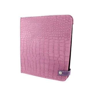 Purple Mock Croc iPad Cover/Stand