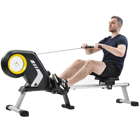Nestfair Magnetic Resistance Rowing Machine with Foldable Design