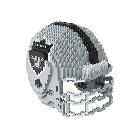Oakland Raiders 3D Helmet-Shaped Puzzle