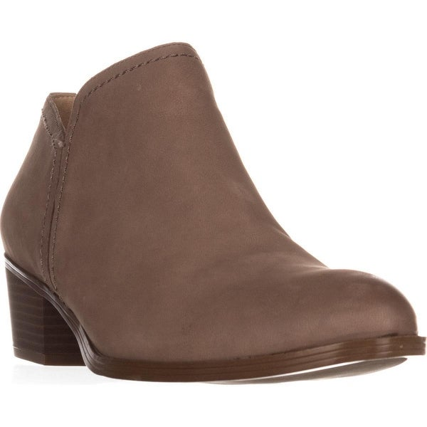 naturalizer Zarie Casual Ankle Boots, Taupe Leather