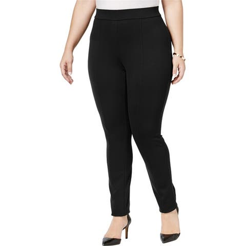 Style & Co. Womens Seamed Casual Leggings