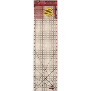 "The Cutting EDGE Frosted Ruler-6-1/2""X24-1/2"""