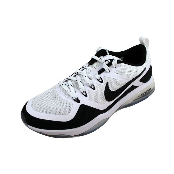a442f8211aa0 Shop Nike Women s Air Zoom Fitness White Black 904645-100 - On Sale ...
