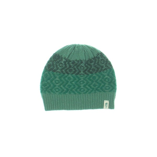 3886ad32c The North Face Womens Tribe N True Beanie Hat Marled Ribbed Trim - o/s