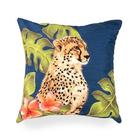 Liora Manne Illusions Cheetahs Indoor/Outdoor Pillow
