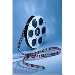 """""""Film reel"""" Poster Print"""
