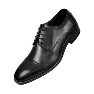 Asher Green Genuine Calf Leather Cap Toe Lace Up Oxford