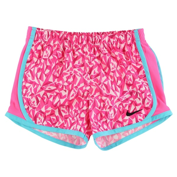 02c6a21fdba8 Shop Nike Baby Girls All Over Print Tempo Shorts Hot Pink - hot pink omega  blue white - 5 - Free Shipping On Orders Over  45 - Overstock - 22694172