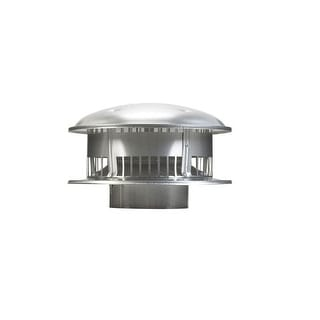 """Selkirk 106800 Round Gas Vent Top, 6"""""""