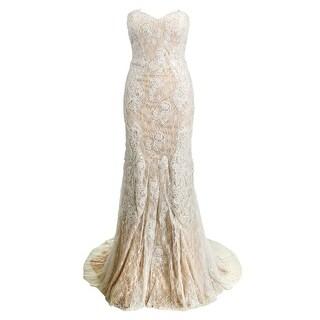 JVN by Jovani Womens Embellished Prom Formal Dress