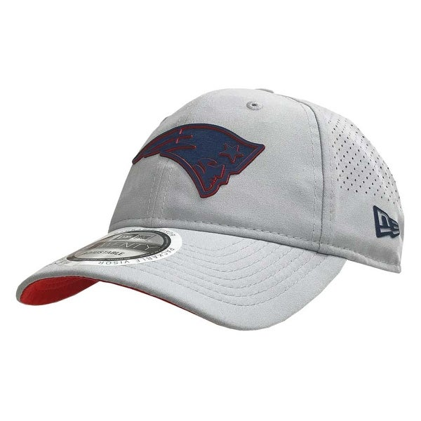 Shop New Era NFL New England Patriots Baseball Hat Cap Training 9Twenty Gray  11766516 - Free Shipping On Orders Over  45 - Overstock - 22108198 801146308