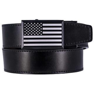 Nexbelt Go In Beveled Heritage USA Black Series Golf Belt