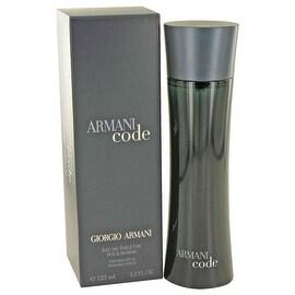 Armani Code by Giorgio Armani Eau De Toilette Spray 4.2 oz - Men