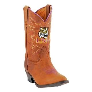 Gameday Boots Boys Louisiana University Round Toe LSU-B016-1