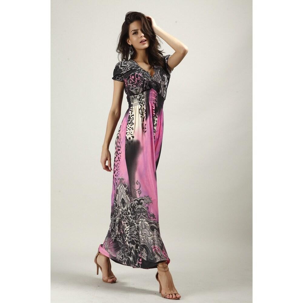 Large Size Silk Dress