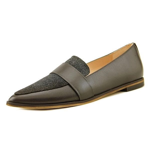 Dr. Scholl's Ashah Women Pointed Toe Leather Gray Loafer