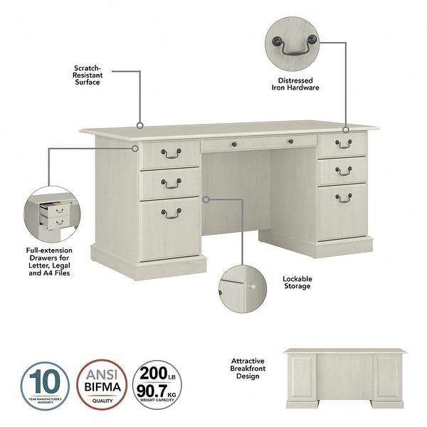 Copper Grove Executive Desk