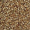 Miyuki Delica Seed Beads 11/0 - Duracoat Galvanized Champagne DB1834 7.2 Grams - Thumbnail 0