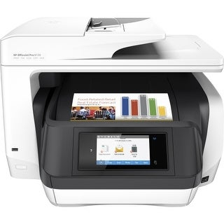 HP M9L75A#B1H OfficeJet Pro 8720 AIO Multifunction Printer w/ HP Thermal Inkjet Print Technology