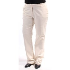 c73be654f0f Shop JONES NY Womens Ivory Wear To Work Pants Size  12 - Free Shipping On  Orders Over  45 - Overstock - 21307163