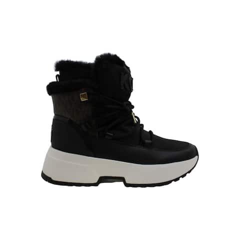 Michael Michael Kors Women's Shoes Cassia bootie Fabric Closed Toe Ankle Cold...