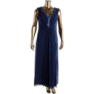 Joanna Chen Womens Plus Embellished Prom Evening Dress - 16W