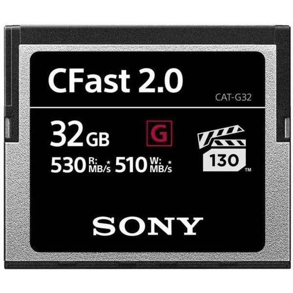 Sony G Series CFast 2.0 Memory Card (32GB)