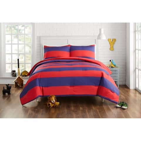 Lavelle Comforter Set, Red