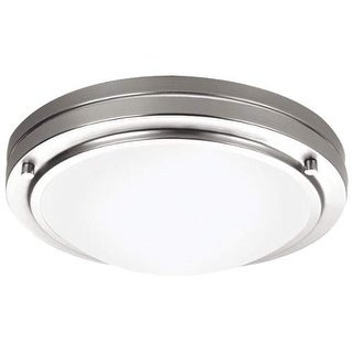 "Forecast Lighting F245036U 1 Light 10.63"" Wide Flush Mount Ceiling Fixture from the West End Collection"