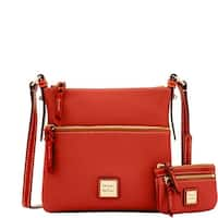 Dooney & Bourke Pebble Letter Carrier & Small Coin Case (Introduced by Dooney & Bourke at $198 in Sep 2017)