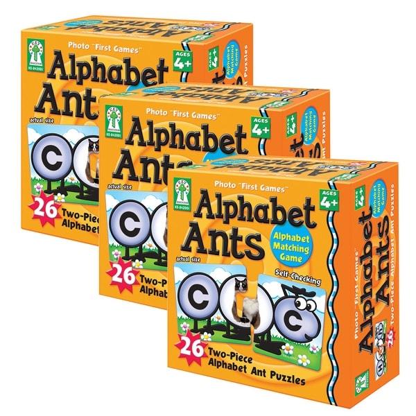 (3 Ea) Alphabet Ants Game
